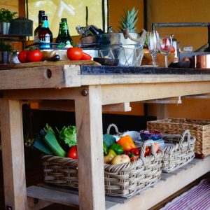 glamping for foodies
