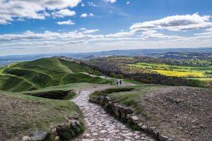 Malvern Hills walking