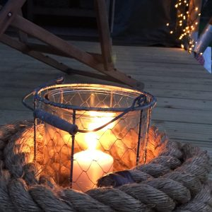 Deck candles