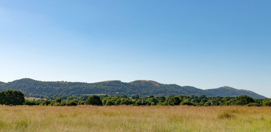 View of The Malverns