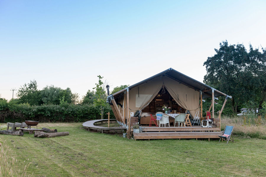 UpSticks Glamping for Groups